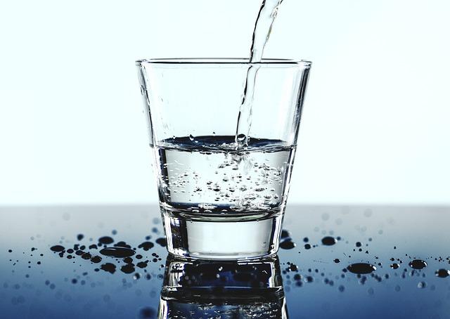 nalévání vody