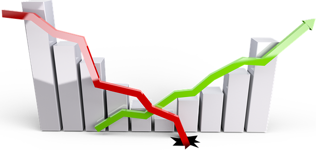 graf růstu a úpadku